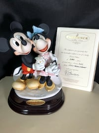 Giuseppe Armani Disney Mickey And Minnie Mouse Figure 2003 Limited 1777C Warwick