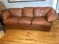 Leather sofa ( couch )