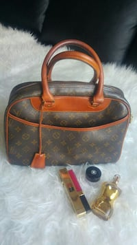 bolso marrón de Louis Vuitton monogram canvass en piel