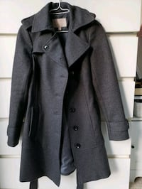 Banana Republic wool coat size 0, like new condition  Toronto, M2R 2J2