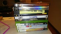 assorted video game cases