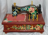Vintage hand painted sewing box  Edmonton