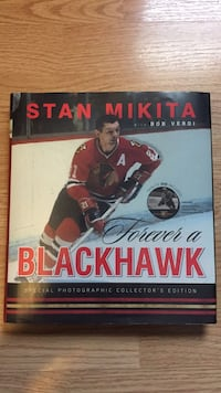 Signed Stan Mikita Book Oak Forest, 60452