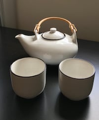 Ceramic tea set (3pcs) Guelph
