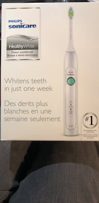 Sonicare healthy white tooth brush new Waterloo, N2T 2M2