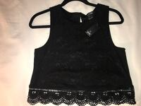 Bnwt black sleeveless top Surrey, V3R 0W2