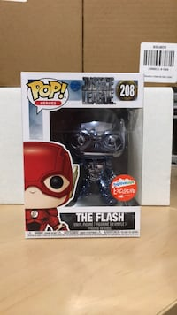 Fugitive Exclusive The Flash Blue Chrome funko pop Falls Church, 22042
