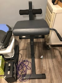Roman Chair/Hyperextension Bench