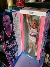 14 inch tall Charles Barkley action figure from '97