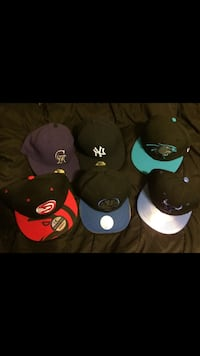 All different kinds of hats (7 1/8 and adjustable sizes) Baltimore, 21213