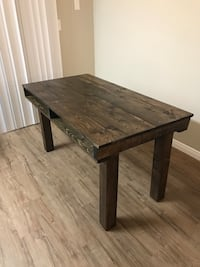 Brand new rustic kitchen table or desk
