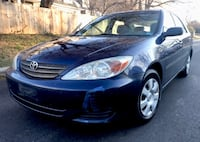 2002 Royal Blue TOYOTA Camry great on gas Takoma Park