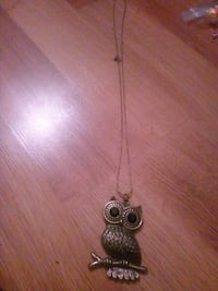 Colier hibou 2€ Romilly-sur-Seine, 10100