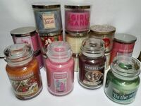 Yankee Candle Candle Lot Bath Body Works Candles Scented Candles NEW Bethlehem