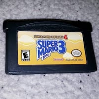 Super Mario 3 for GAMEBOY ADVANCE. $10 Vancouver, V6Z