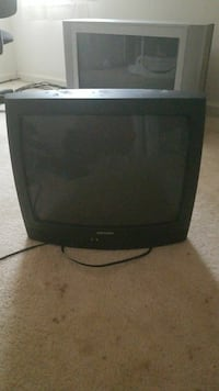 black CRT TV with remote Durham, 27704