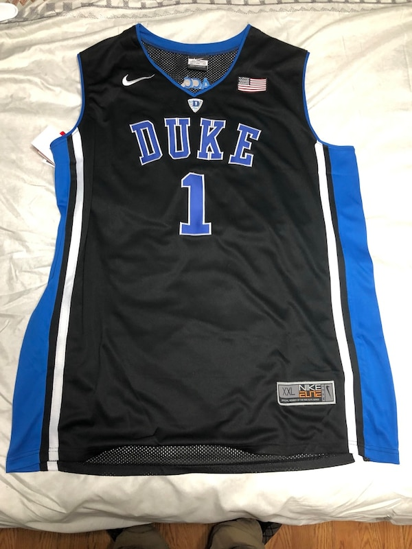 cheap for discount 92b20 529c4 black and blue Nike basketball jersey