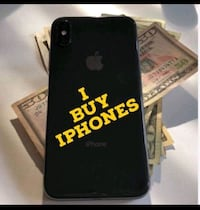 black iPhone 7 plus with box Washington