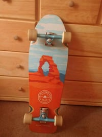 sector 9/vivint limited edition collab longboard