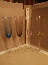 clear glass wine glass set Coral Springs, 33065