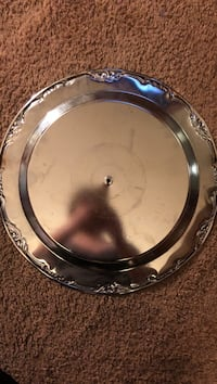 round stainless steel serving tray Suitland, 20746