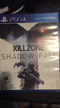 Sony PS4 Killzone Shadow Fall game case Rocky View No. 44, T0J 1X2