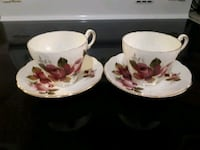 Tea Cups Made in England  Montreal
