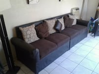 Dark Brown Sofa El Paso
