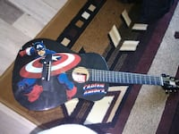 captain america learners acoustic guitar collector item  Edmonton, T5K 1W4
