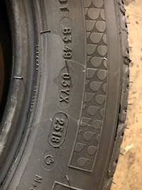 I have one tire for sale 215/60/16 for $30 Michelin premier tread depth 9/32 20 mi