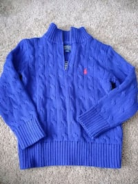 Polo Sweater never worn. Size Boy 4T