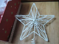 New White Christmas Tree Topper Delta