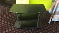 black wooden 2-layer TV stand Pensacola, 32507
