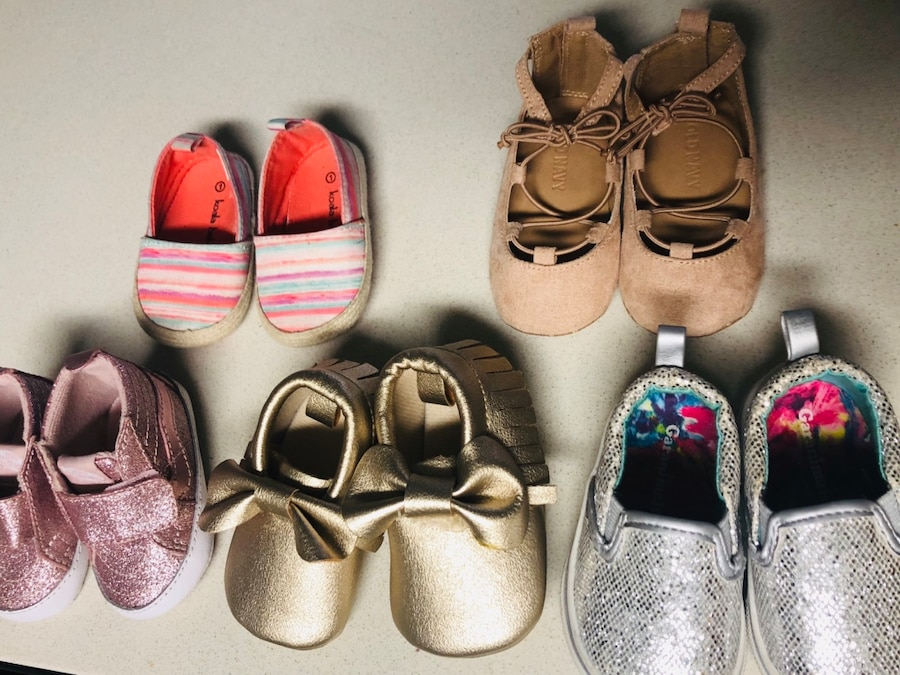 63394cf3bfad Baby girl shoes size 1 to 2