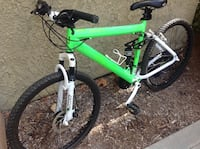 green and black hardtail mountain bike Dana Point, 92629
