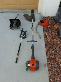 two red and black gas string trimmers New Port Richey, 34653