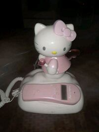 VINTAGE PINK HELLO KITTY TELEPHONE WORKS GREAT  Providence