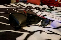 black framed Ray-Ban wayfarer sunglasses Regina, S4R 2R1
