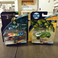 2 DC Hot Wheels Character Cards $5 for Both Toms River