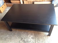 Coffee Table black brown-46 1/2 x 29 1/2 Toronto, M8Z 3Z7