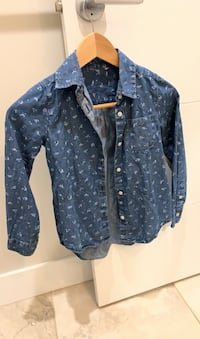 Girls denim shirt . 8y