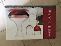 7 piece wine set - Pelham, 03076
