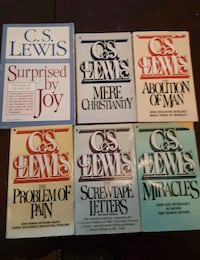 Lot of 6 books by C.S. Lewis Port Charlotte, 33954