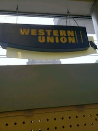 Lighted western union sign  Queen Creek, 85142