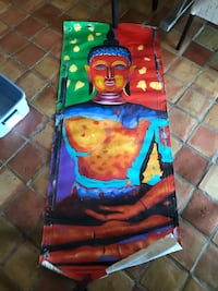 Buddha canvas painting Wainfleet, L0S