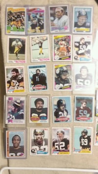 70s All time great steelers lot ( Franco RC) Elwood, 46036