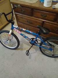 blue and white BMX bike Cohoes, 12047