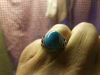 silver-colored ring with blue gemstone Havre de Grace, 21078
