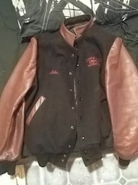 Hockey jacket real leather in great condition
