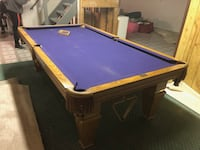 blue and brown billiard table Vaughan, L4H 2G9